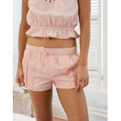 Aerie Pintucked Lace Short