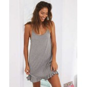 Aerie Softest Sleep Ruffle Nightie