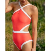Aerie Binding One Piece Swimsuit