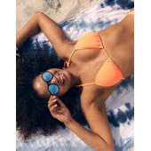 Aerie Textured Triangle Bikini Top