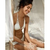 Aerie Macrame Triangle Bikini Top