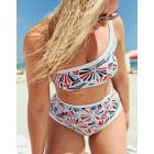 Aerie Pop One Shoulder Bandeau Bikini Top