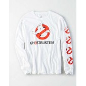 AE Ghostbusters Long Sleeve Graphic Tee