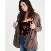AE Soft & Sexy Plush Hooded Cardigan