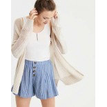 AE Mesh Cable Knit Cardigan