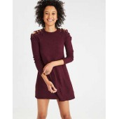 AE Lace Up Shoulder Dress