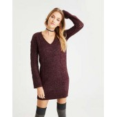 AE Ahh-Mazingly Soft Cable Knit Sweater Dress
