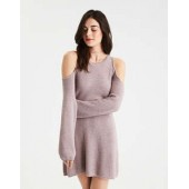 AE Ahh-Mazingly Soft Cold Shoulder Sweater Dress