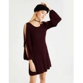AE Ahh-Mazingly Soft Split-Sleeve Sweater Dress