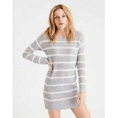 AE Ahh-Mazingly Soft Lace-Up-Back Sweater Dress
