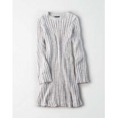 AE Chenille Ribbed Sweater Dress