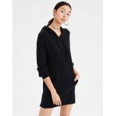 AE Soft & Sexy Plush Hoodie Dress