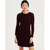 AE Ribbed Fit And Flare Sweater Dress