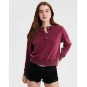 AE Ahhmazingly Soft Henley Sweatshirt