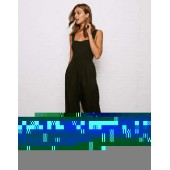 Don't Ask Why Tie Back Jumpsuit