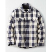 AE Seriously Soft Lined Shirt Jacket