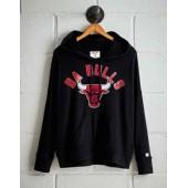 Tailgate Women's Da Bulls Plush Hoodie