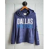 Tailgate Women's Dallas Mavericks Plush Hoodie