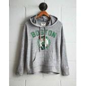 Tailgate Women's Boston Celtics Plush Hoodie