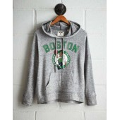 Tailgate Women's Boston Celtics Plush Hoodie