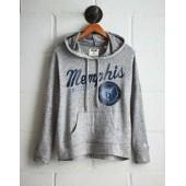 Tailgate Women's Memphis Grizzlies Plush Hoodie