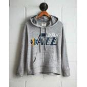 Tailgate Women's Utah Jazz Plush Hoodie