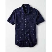 AE Sunglass Printed Poplin Shirt