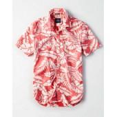 AE Hawaiian Button-Down Shirt
