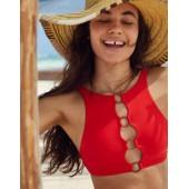 Aerie Rings High Neck Bikini Top