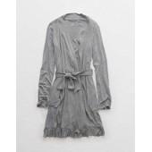 Aerie Softest Sleep Ruffle Robe