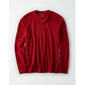 AE Long Sleeve Thermal Henley T-Shirt