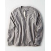 AE Long Sleeve Military Slub Henley