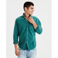 AE Seriously Soft Oxford Buttondown Shirt