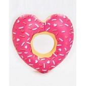 BigMouth Heart Donut Pool Float