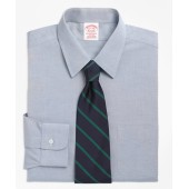 Traditional Relaxed-Fit Dress Shirt, Non-Iron Point Collar
