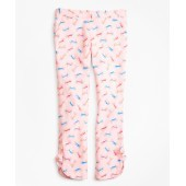 Cotton Tossed Candy Print Pants