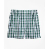 Traditional Fit Plaid Boxers