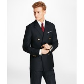 Country Club Milano Fit Saxxon Wool Double-Breasted Blazer