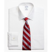Stretch Regent Fitted Dress Shirt, Non-Iron Spread Collar