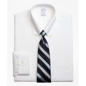 Stretch Regent Fitted Dress Shirt, Non-Iron Button-Down Collar