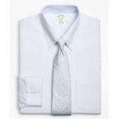 BrooksCool Milano Slim-Fit Dress Shirt, Non-Iron Tonal Alternating Stripe