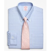 BrooksCool Madison Classic-Fit Dress Shirt, Non-Iron Ground Check