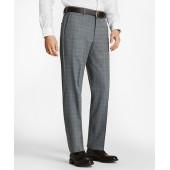Regent Fit BrooksCool Plaid Trousers