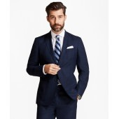 Regent Fit BrooksCloud Mesh with Multi-Windowpane Suit