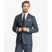 Regent Fit BrooksCloud Plaid Suit