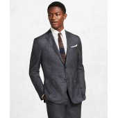 Golden Fleece BrooksCloud Grey Plaid Suit