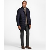 Technical Wool Down-Filled Trench