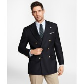 Country Club Madison Fit Saxxon Wool Double-Breasted Blazer
