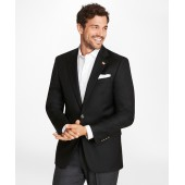 Country Club Madison Fit Saxxon Wool Two-Button Blazer