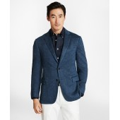 Regent Fit Linen Knit Sport Coat